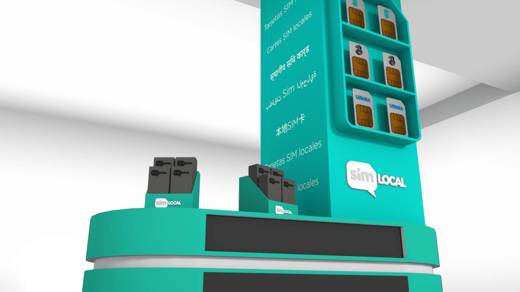 Wkl Pillar And Desk 3d Sim Card 3